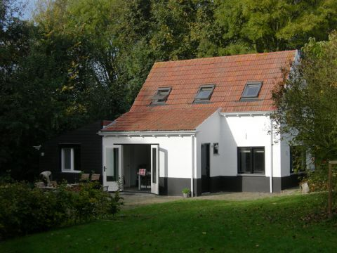Foto 1: Vakantiehuis Puijendijk 2 Groede Zeeland