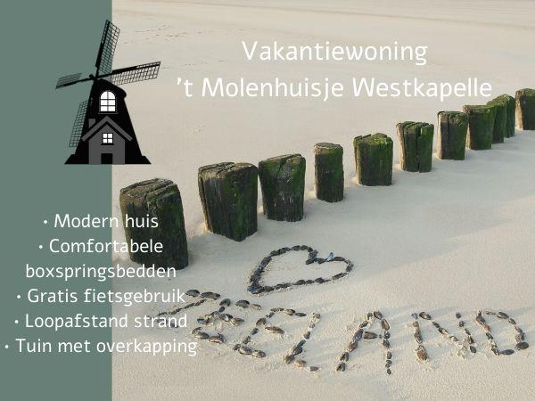 Foto 1: Vakantiehuis Molenweg 2a Westkapelle Zeeland