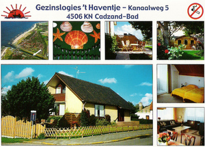 Foto 1: Vakantiehuis Kanaalweg 5 Cadzand Zeeland